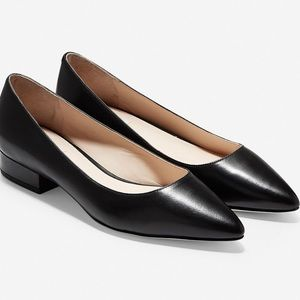 Cole Haan Vesta Skimmer Flats Heeled Pointed Toe